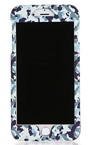 Para Apple iphone 7 7plus caso capa padrão corpo completo camuflagem cor hard pc 6s plus 6 plus 6s 6