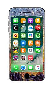 1 pezzo Anti-graffi Ad olio Di plastica trasparente Decalcomanie Fosforescente A fantasia PeriPhone 7 Plus iPhone 7 iPhone 6s Plus/6 Plus