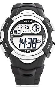 Vilam Masculino Mulheres Unissex Relógio Esportivo Relogio digital DigitalCalendário Cronógrafo Impermeável alarme Luminoso Resistente ao