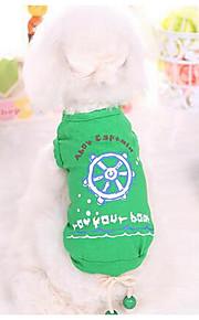 Hunde T-shirt Hundekleidung Niedlich Modisch Prinzessin Dunkelblau Grün