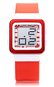 Vilam Infantil Relógio Esportivo Relógio de Moda Relógio Casual Relogio digital Digital Impermeável Luminoso Resistente ao Choque Borracha