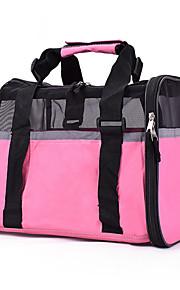 고양이 강아지 캐리어&여행용 배낭 슬링 백 애완동물 캐리어 휴대용 통기성 솔리드 블랙 핑크