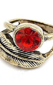 Båndringe Ring Imiteret DiamantEnkelt design Unikt design Logo Venskab Euro-Amerikansk Gør Det Selv Indledende smykker Victoriansk