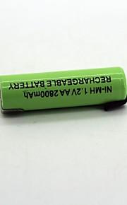 Ni-mh 1.2 v aa 2800mAh şarj edilebilir pil