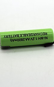 Ni-mh 1.2v aa 2800mah wiederaufladbare Batterie