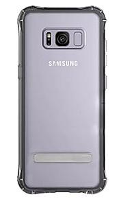 Voor Samsung Galaxy S8 S8 plus case cover vier hoeken anti-val tpu acryl twee-in-één materiaal telefoon shell telefoon hoesje
