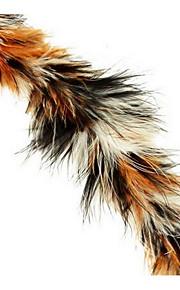 Игрушка для котов Игрушки для животных Интерактивный Дразнилки Прочный Пластик Ткань Коричневый