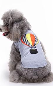 猫用品 犬用品 Tシャツ ベスト 犬用ウェア 夏 刺繍 キュート ファッション カジュアル/普段着