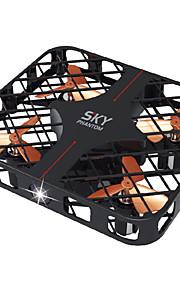 Drone Ideafly 4CH 6 Eixos 2.4G - Quadcópero com CRIluminação De LED Retorno Com 1 Botão Modo Espelho Inteligente Vôo Invertido 360°