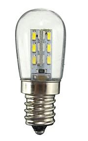 1W E12 LED-globepærer 24 SMD 2835 50-99 lm Varm hvit Hvit Dekorativ AC110 AC220 V 1 stk.