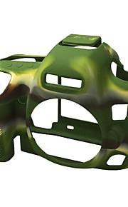 Capa-Preto Verde--Um Ombro-Canon-Câmara Digital