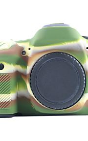 Capa-Amarelo Preto Verde--Um Ombro-Canon-Câmara Digital