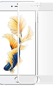 For Apple iPhone 7 front skjermbeskytter herdet glass fullskjerm stålfilm hvit