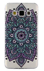 Para a galáxia de samsung a3 a5 (2017) caso tampa datura flores padrão gota cola verniz alta qualidade tpu material telefone caso a3 a5