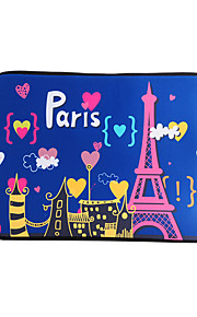 For MacBook Air / Pro / Retina 13 inch Universal Laptop Sleeves Oil Painting Eiffel Tower Pattern Canvas Material