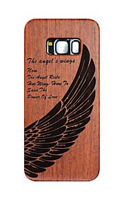 Dla samsung galaxy s8 s8 plus skrzydła aniołów rzeźbione twarde okładki ochronne samsung case s7 edge s7