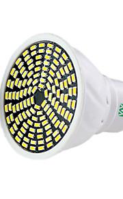 5W GU10 GU5.3(MR16) LED-spotpærer MR16 128 SMD 3014 400-500 lm Varm hvit Kjølig hvit Naturlig hvit Dimbar Dekorativ AC 220-240 V 1 stk.