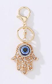 O novo saco de carro chave anéis turco olho metal idéia