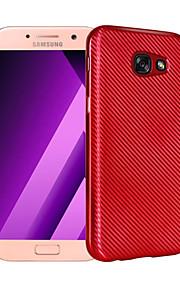 Для Samsung Galaxy a3 (2017) a5 (2017) покрытие корпуса покрытие задняя крышка solid цвет soft tpu a7 (2017)