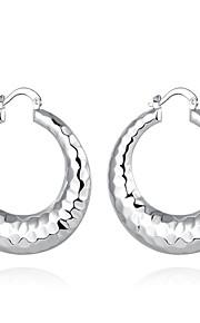 Store øreringe SmykkerEnkelt design Unikt design Hængende Natur Geometrisk Kvadrat Venskab Sød Stil Euro-Amerikansk Tyrkisk Movie smykker