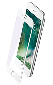 רוק עבור אפל 6s 6 מסך מגן מזג זכוכית 2.5d אנטי High Definition (HD) מסך מלא מגן מסך 1pcs