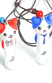Fashion Interactive Pet Toys Handmade Ceramic Cute Style Dog Whistle Small Pet Dog Training Products