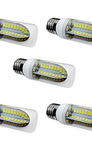 5W LED a pannocchia T 80 SMD 5730 1000 lm Bianco caldo Bianco V 5 pezzi