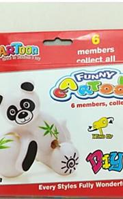 Træk-op-legetøj Kat Abe Bjørn Plastik Unisex Baby 0-6 måneder 6-12 måneder 1-3 år 3-6 år