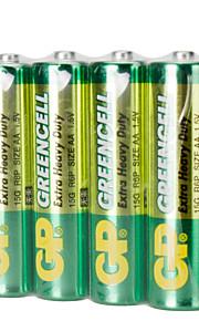 Gp gp15gbj4 aa cardon zink tørcelle batteri 1.5v 40 pak