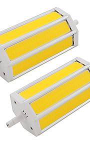 9W LED-spotpærer Tube 3 COB 660 lm Varm hvit Kjølig hvit V
