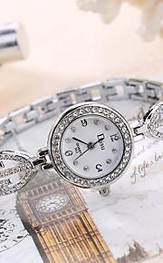 בגדי ריקוד נשים לנשים שעוני אופנה שעון יד ייחודי Creative צפה שעונים יום יומיים קווארץ סגסוגת להקה מזל מגניב יום יומי יצירתי יוקרתי אלגנטי
