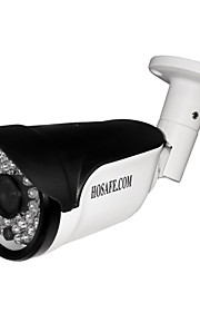 HOSAFE® 2MB8P 2.0MP 1080P Waterproof Outdoor IP Camera w/ POE / 36-IR-LED / Motion Detection