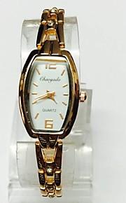Жен. Женские Модные часы Часы-браслет Китайский Кварцевый сплав Группа Повседневная Розовое золото