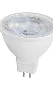 6W GU10 GU5.3(MR16) LED-spotpærer MR16 SMD 2835 650 lm Varm hvit Hvit AC 220-240 V 1 stk.