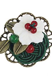 Dame Brocher Enkelt design Blomster Legering Blomstformet Smykker For Afslappet