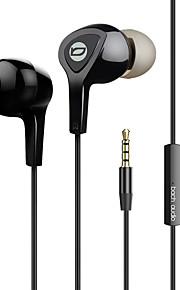 Ep01 i-øret metal bas øretelefon højttalere med ørekontakt med trådstyret tuningfunktion