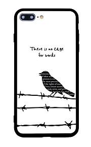 아이폰 7 플러스 7 케이스 커버 패턴 다시 커버 케이스 동물 단어 / 문구 소프트 쉘 아이폰 6s 플러스 6 플러스 6s 6 5s 5 se