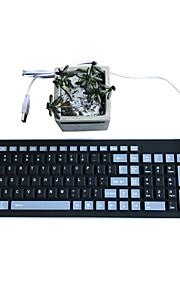 Wasserdichte falten stumpf kieselgel 103 schlüssel otg usb tastatur