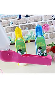 Pies Miski i butelki wody Zwierzęta domowe Miski i Żywienie Yellow Niebieski Różowy