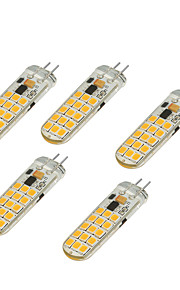 4.5W 2-pins LED-lampen T 30 SMD 2835 350-450 lm Warm wit Koel wit V 1 stuks