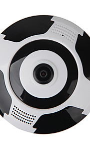 VESKYS® 960P 360 Degree FishEye Full View IP Wi-Fi Camera (1.3MP FishEye Wi-Fi 10m Nigh Vision Dual Talk)