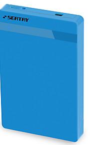 (Assento) hds2130-bl 2,5 polegadas usb3.0 caixa de disco rígido móvel sata porta serial notebook disco rígido caixa externa azul