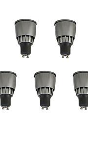 7W LED-spotlampen 1 COB 780 lm Warm wit Koel wit Decoratief V 5 stuks