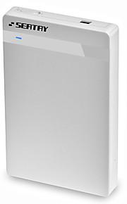 Seatay hds2130-w abs 2,5 polegadas usb3.0 sata caixa externa branco instalação sem ferramentas