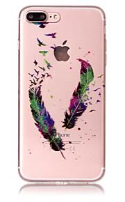 Case voor apple iphone 7 plus 7 telefoon hoesje tpu materiaal imd proces veerpatroon hd flash poeder telefoon hoesje 6s plus 6 plus 6s 6