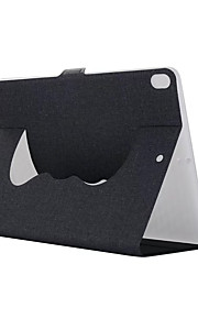 For Case Cover with Stand Full Body Case Solid Color Hard Textile for Apple iPad pro 10.5 iPad (2017) iPad Pro 9.7'' iPad Air 2 iPad Air