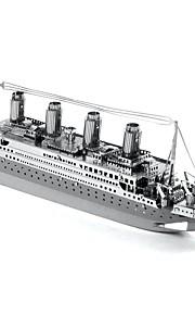 Puzzle Modellini di metallo Costruzioni Giocattoli fai da te Nave