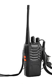 Retevis H-777 Walkie Talkie UHF 400-470MHz 3W 16CH CTCSS/DCS 2 Way Radio with Original Earpiece
