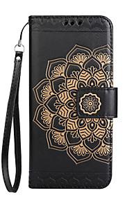 Cassa per lg k8 2017 k10 2017 custodia per carta di copertura per cuscino portafoglio flip modello goffrato completo cassa del telefono