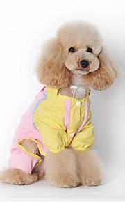 Hund Regenmantel Hundekleidung Lässig/Alltäglich Massiv Grün Rosa